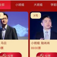 投票系统(2021版)-中国红主题模版ui风格展示